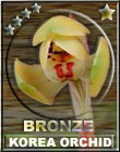Korea Orchid Award - Bronze