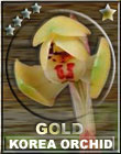 Korea Orchid Award-Gold